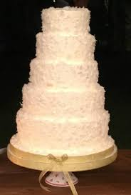 5 tier coconut red velvet custom design wedding cake picture of