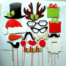 Homemade Photo Booth 17 Christmas Paper Photo Booth Props Buy Photo Booth Props Paper