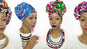video tutorial turban style head wrap tutorial 5 different ankara styles youtube