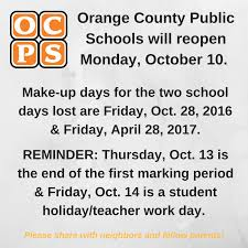 makeup schools in orange county orange county schools reopen monday the apopka voice