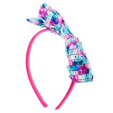bow headband pink blue sequin bow headband s us