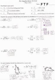 pre alg quiz u0026 test answers