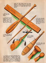 plans to build a canoe paddle with links to free plans