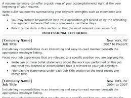 The Most Professional Resume Format Teaching Resume Samples Entry Level Basic Resume Template Free