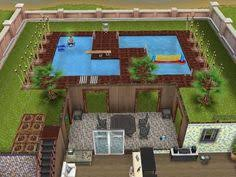 Sims Freeplay House Floor Plans Sims Freeplay Cool Mansion Love The Center Pool Area Sims