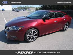 2016 nissan maxima zero to sixty 2016 used nissan maxima 4dr sedan 3 5 sv at landers chevrolet