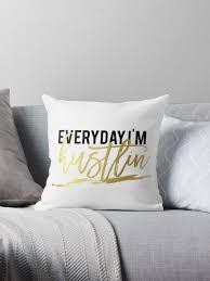 Printable Art Everyday I U0027m Hustlin Inspirational Quote