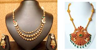 this vishu try out jewellery that is traditional yet light
