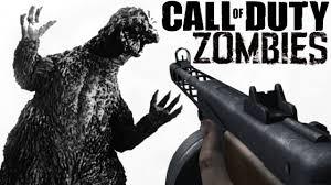 weird godzilla zombies call of duty zombies custom mods gameplay