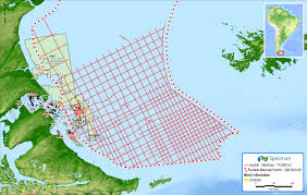 malvinas map spectrum adds argentina data with 2d seismic project pesa