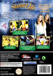 mary kate and ashley sweet 16 licensed to drive 2003 gamecube