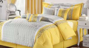 bedding set yellow grey bedding astonishing bedroom set for sale