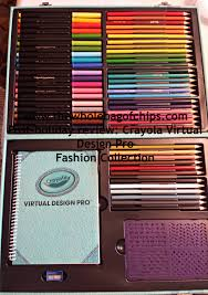 post holiday review crayola virtual design pro fashion collection