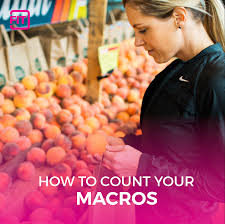 how to count macros for weight loss and a healthier diet