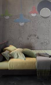 Schlafzimmer Blau Gelb 32 Designer Tapeten Für Schlafzimmer Und Kinderzimmer