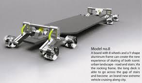 skateboard designen po chih lai s staircase friendly skateboard design core77