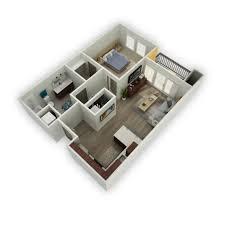 studio 2 bed apartments via