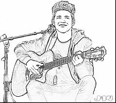 amazing one direction coloring pages printable with coloring pages