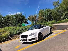 2007 07 audi rs4 b7 ibis white convertible fully loaded bucket