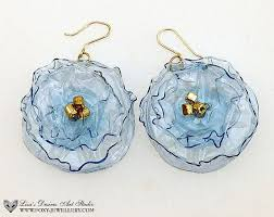 eco friendly earrings 123 best plastic jewelry images on jewerly recycled