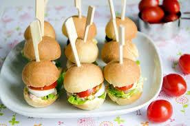 canapé apéro facile mini pans bagnats parfaits pour l apéritif