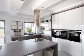 kitchen design white cabinets black appliances 28 modern white kitchen design ideas photos designing idea
