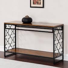 hooker sofa tables hooker furniture melange cassara black console table