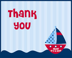 nautical thank you cards nautical baby shower thank you cards nautical thank you cards