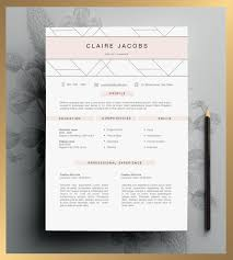 Creative Resume Templates Word Creative Resume Template Editable In Ms Word And Pages By