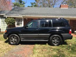 lexus v8 lx470 2004 lexus lx470 v8 black used lexus lx for sale in king north