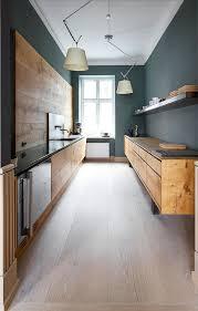 le chene cuisine le chêne est à l honneur dans cette cuisine moderne bois