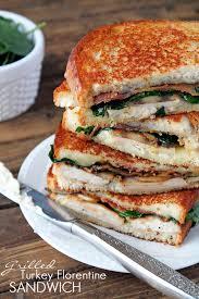 grilled turkey florentine sandwich the recipe critic