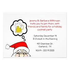 Cocktail Party Invite - i smiled you best top 8 funny christmas party invitations