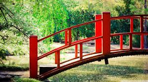 japanese garden bridge 4k hd desktop wallpaper for 4k ultra hd
