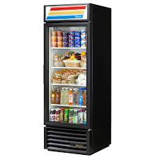 true gdm 23 hc ld 23 cu ft glass door merchandising cooler with