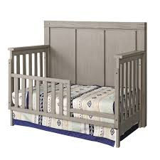 Crib Convertible Toddler Bed by 4 In 1 Convertible Crib Piermont Rustic Stonington Gray Oxford