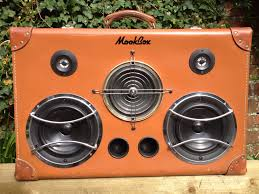 portable speaker from old wooden box speakers and diy speakers