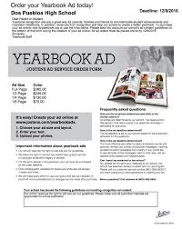 yearbook prices recognition ads dos pueblos yearbook