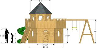 castle plans whimsical castle playhouse plan 290ft wood plan for kids