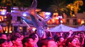 conor mcgregor after fight party encore beach club las vegas
