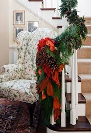 Banister Christmas Ideas 22 Beautiful Christmas Decorations For Stair Ideas Home Design