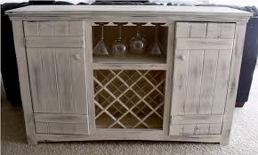 black buffet table with wine rack u2014 new decoration attractive