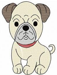 pug sketch embroidery design dog sketch embroidery design dog