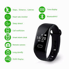 heart rate calorie bracelet images Diggro k18s new smart bracelet with blood oxygen wristband heart jpg