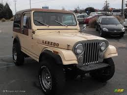 jeep cj laredo 1982 tan jeep cj7 laredo 4x4 22554455 photo 4 gtcarlot com
