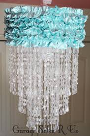 Cool Chandeliers Creative And Cool Diy Chandelier Designs Chandelier Fabric Hula Hoop