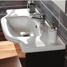 Narrow Rectangular Bathroom Sink Wall Mounted Sinks You U0027ll Love Wayfair