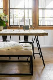 Floor Dining Table The Living U0026 Dining Room Cottage House Flip Reveal Jenna Sue