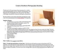 newborn posing bean bag pattern for newborn photography posing beanbag diy from