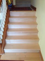 Laminate Flooring Stair Treads Maple Stair Treads Jed Buxton Design Build